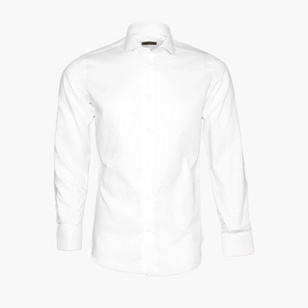 Foro Camicia da uomo bianca